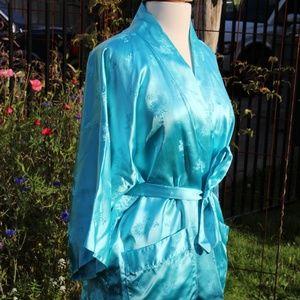 Vintage Rayon Robe